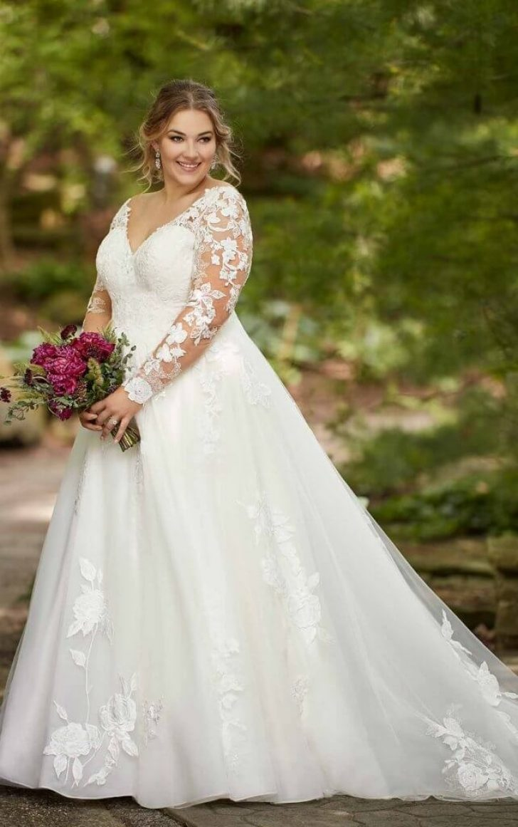 Permalink to Perfect Plus Size Wedding Dresses Sleeves