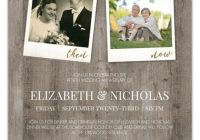 now and then hanging photos 50th wedding anniversary invitation 50th Wedding Anniversary Photo Invitations