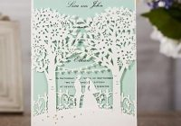 oem laser cut invitations customized wedding invitation cards with trees lovers hollow personalized wedding invitations bw i0509 invitation maker Personalized Wedding Invitations With Pictures