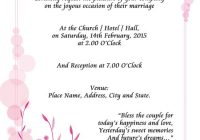 online wedding invitation sample examples of wedding Sample Wedding Invitation Cards