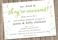 our favorite day after wedding brunch invitations wedding Post Wedding Dinner Invitation Wording