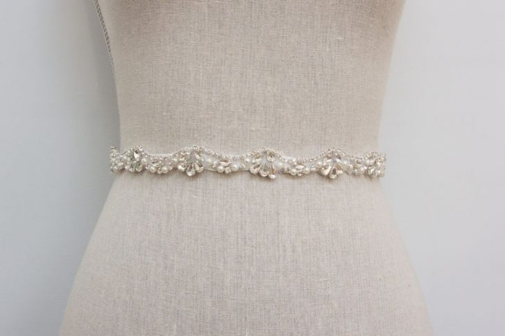 Permalink to Rhinestone Sashes For Wedding Dresses Gallery