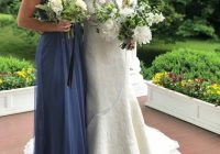 periwinkle bridesmaid dress size 4 Periwinkle Wedding Dress