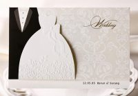 personalized wedding invitations cards traditional tuxedo Personalized Wedding Invitations With Pictures