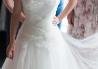 petite strapless tulle wedding dress w drop waist Drop Waist Tulle Wedding Dress
