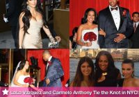 pictures from lala vazquezs wedding to carmelo anthony in Lala Anthony Wedding Dress
