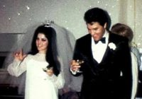 pin on elvis priscilla Priscilla Presley Wedding Dress