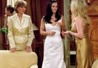 pin on friends Monica Geller Wedding Dress