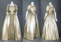 pin on past fashions 18th Century Wedding Dresses