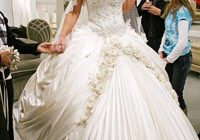 pin on things to wear Ugliest Wedding Dresses