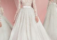pin on until i get married Long Sleeved Wedding Dresses Vera Wang