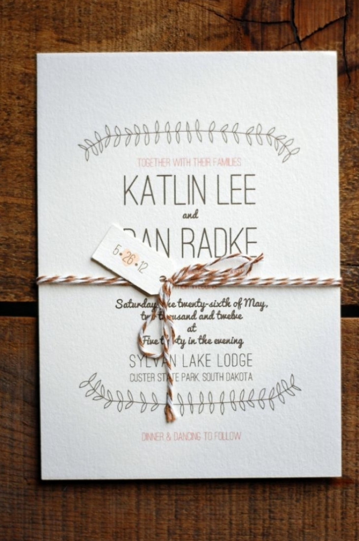 Permalink to Individual Wedding Invitations Ideas