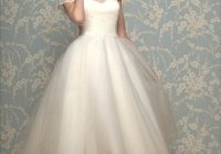 pin on wedding ideas 1950s Tea Length Wedding Dress