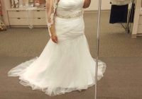 plus size wedding dress from davids bridal nwt Davids Bridal Plus Size Wedding Dresses