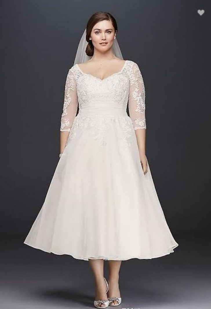 Permalink to Short Wedding Dresses For Plus Size