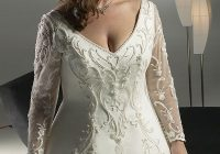 plus size wedding gowns for mature brides curvyoutfits Wedding Dresses For Plus Size Older Brides
