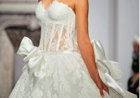 pnina tornai off white lace sweetheart neckline ball gown style 3290 traditional wedding dress size 2 xs 51 off retail Wedding Dresses By Pnina Tornai
