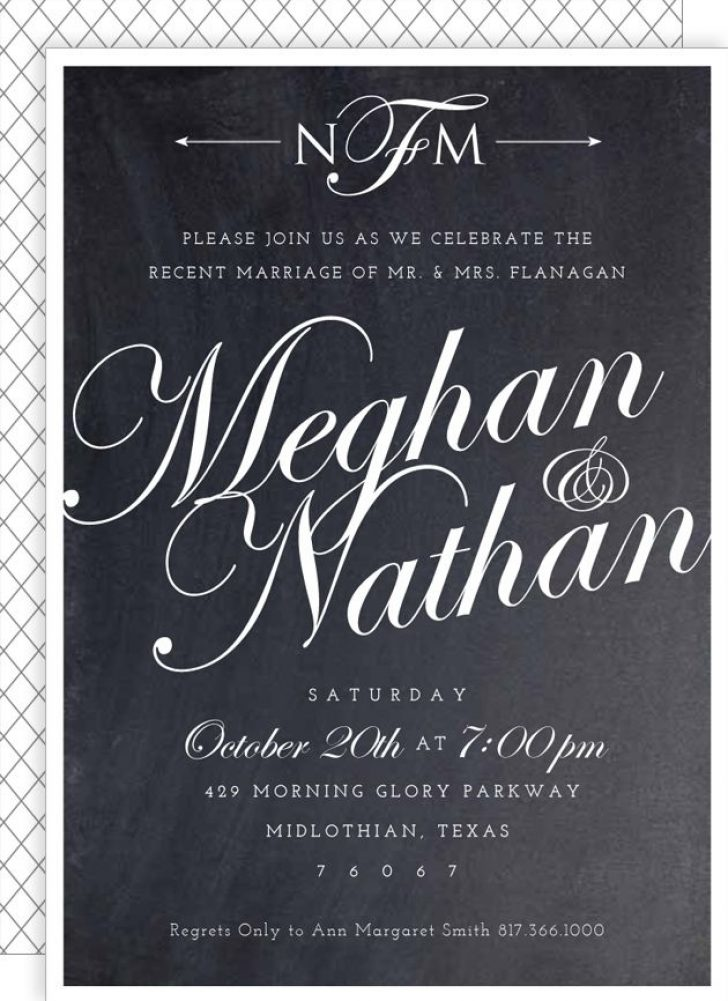 Permalink to Post Wedding Dinner Invitation Wording Ideas