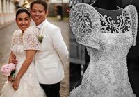 pretty filipiniana wedding gowns philippines wedding blog Filipiniana Wedding Dress