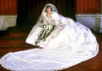 princess dianas wedding gown will be turned over to william Dianas Wedding Dress