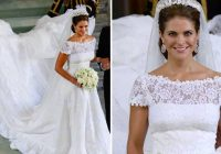 princess madeleine of swedens stunning wedding dress a Princess Madeleine Wedding Dress