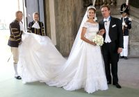 princess madeleine wedding dress details of the valentino dress Princess Madeleine Wedding Dress