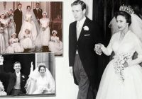 princess margarets wedding in pictures the most glamorous Princess Margaret Wedding Dress