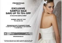 pronovias sample sale nyc aylee bits Sample Sale Wedding Dresses Nyc