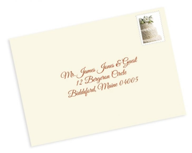 Permalink to How To Address Wedding Invitations With Guest Design