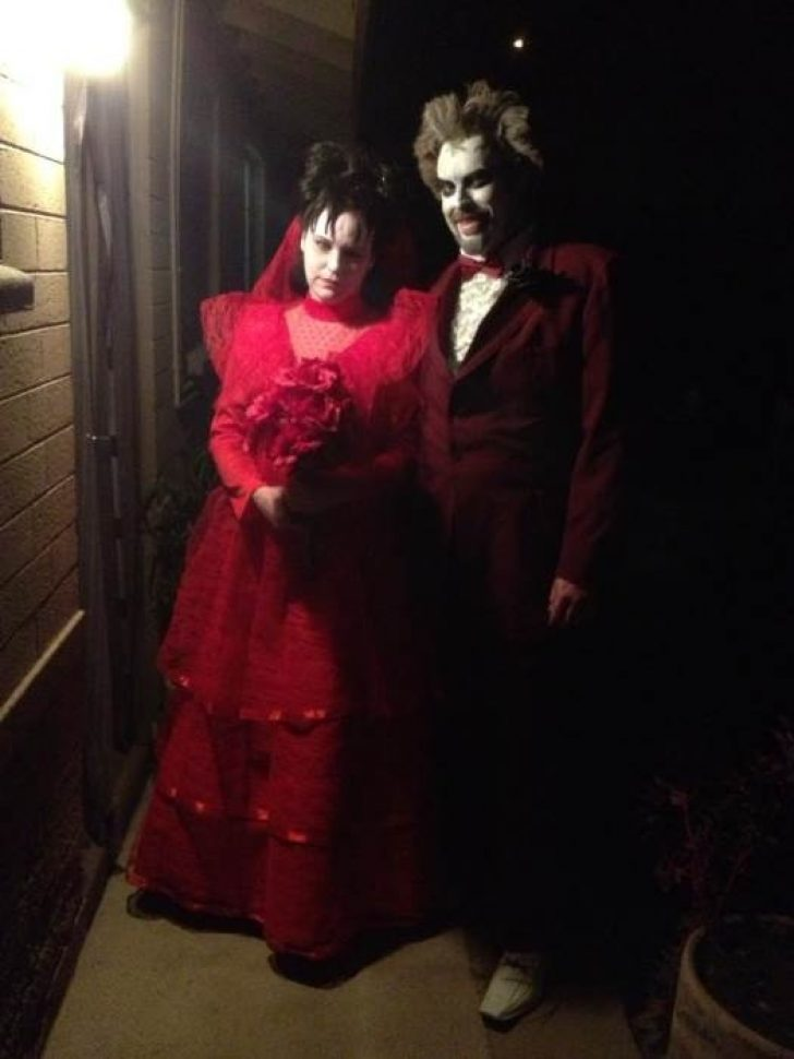 Permalink to Stunning Beetlejuice Red Wedding Dress