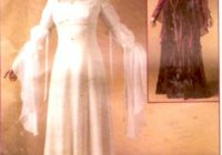 renaissance wedding dress maid marian costume sewing pattern mccalls 4889 historical costume collection renfaire size 14 to 20 uncut Maid Marian Wedding Dress