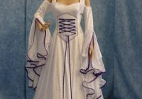 renaissance wedding dress medieval bridal gown handfasting Handfasting Wedding Dresses