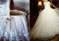 repurposed wedding dress such a great idea moises Repurposed Wedding Dress