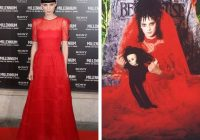 rooney and beetlejuice in 2020 red wedding dresses Beetlejuice Wedding Dress