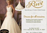 ruvi laredo weddings and quinces Wedding Dresses Laredo Tx
