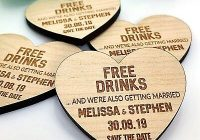 save the date wedding invitation personalised wooden magnets fridge rustic heart ebay Wedding Invite Magnets