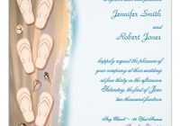 seal and send beach wedding invitations to set the tone for Casual Beach Wedding Invitations
