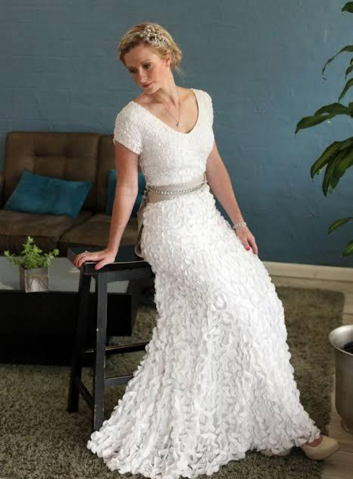 Permalink to Simple Wedding Dresses For Second Marriage With Sleeves