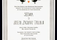 seema josephs whimsical illustrated wedding invitations Cocktail Wedding Invitations