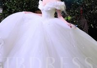 sequins appliques ball gown cinderella wedding dress Cinderellas Wedding Dress