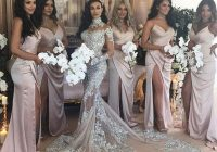 sexy sheer bling beaded mermaid wedding dresses 2020 lace applique high neck illusion long sleeve plus size chapel bridal party gown mermaid lace Bedazzled Wedding Dresses
