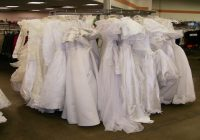smart shopper visits goodwill bridal center Goodwill Wedding Dresses