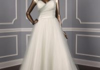 sophia tolli misty gray tulle y11550 formal wedding dress size 14 l 45 off retail Dotted Swiss Wedding Dress