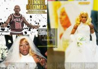storm collectibles nba dennis rodman wedding dress exclusive edition 16 figure Dennis Rodman Wedding Dress
