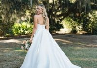 strapless ball gown wedding gown at middleton plantation Wedding Dresses In Charleston Sc