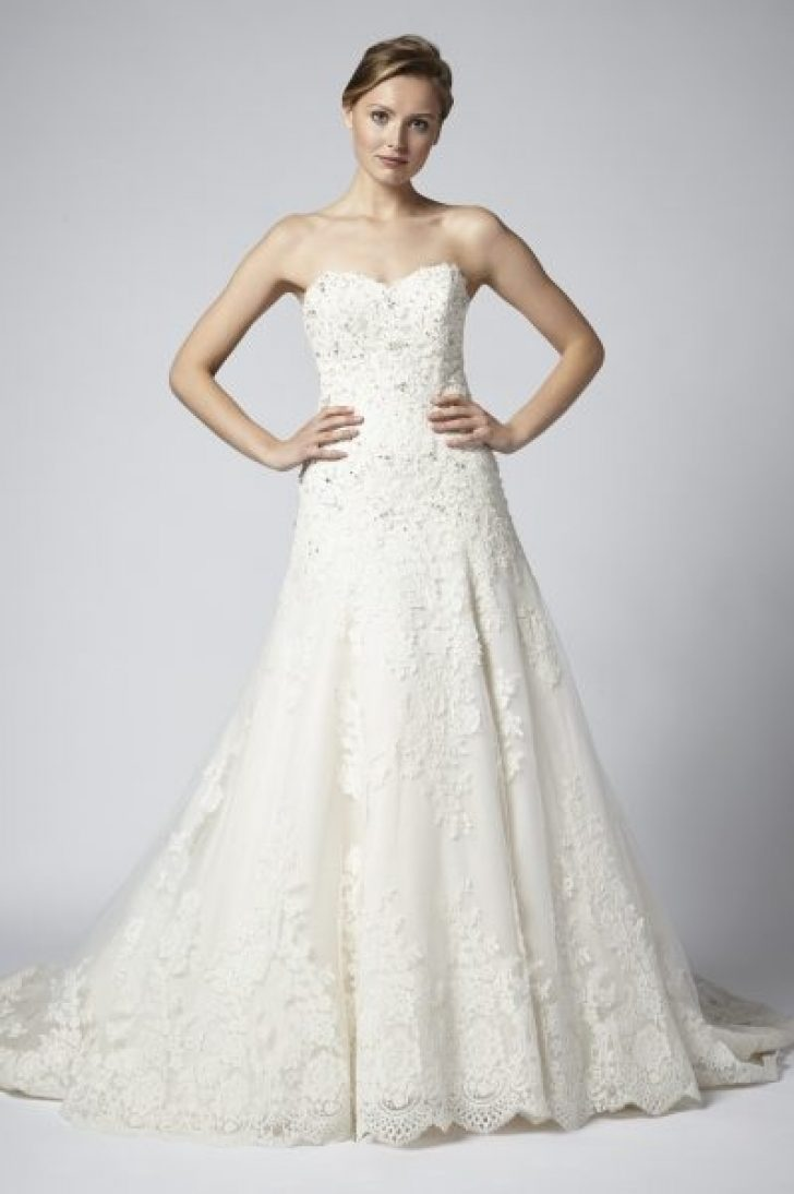 Permalink to 10 Henry Roth Wedding Dresses