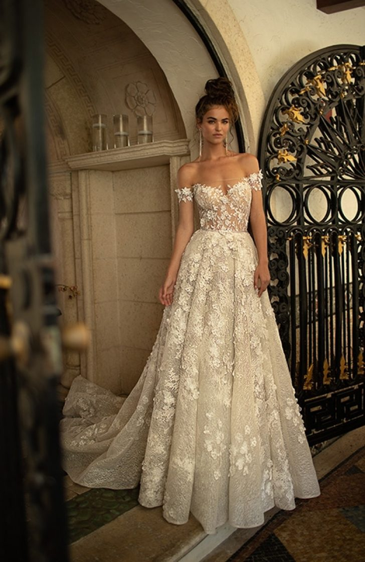 Permalink to Stylish Berta Wedding Dress