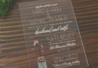 Stylish acrylic wedding invitations cards and pockets Wedding Invitations Price