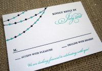 Stylish rsvp card insight etiquette every last detail Wedding Invitations Reply Cards Design