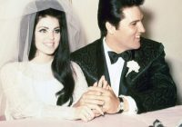 tbt elvis and priscilla presleys wedding photos Priscilla Presley Wedding Dress